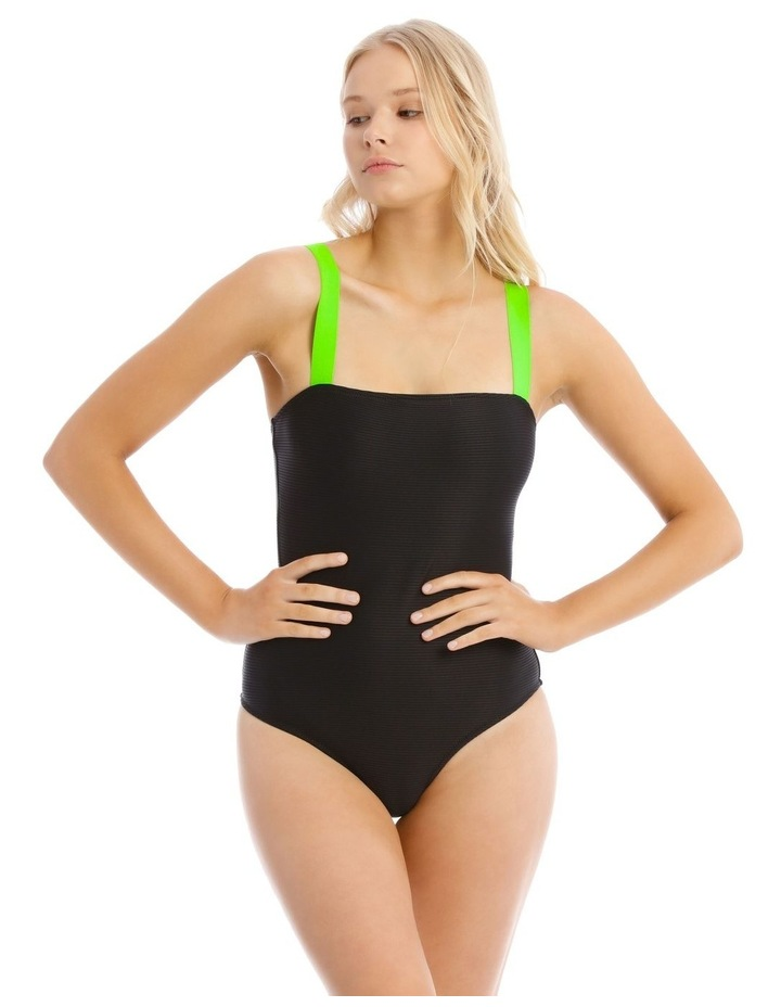 Electric Dreams One Piece with Rib Straps image 1