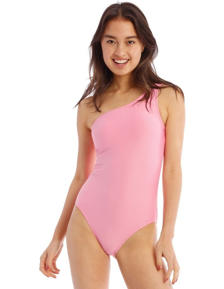 Sweet Like Sugar One Piece Asymmetrical With One Shoulder Strap image 1