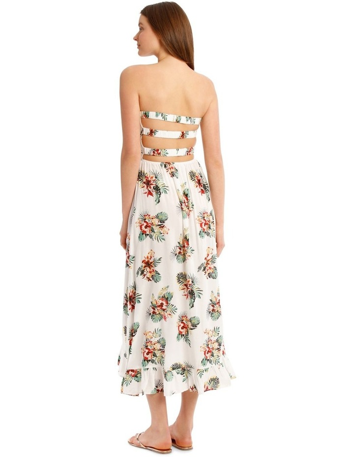 Floral Printed Bandeau Dress image 2