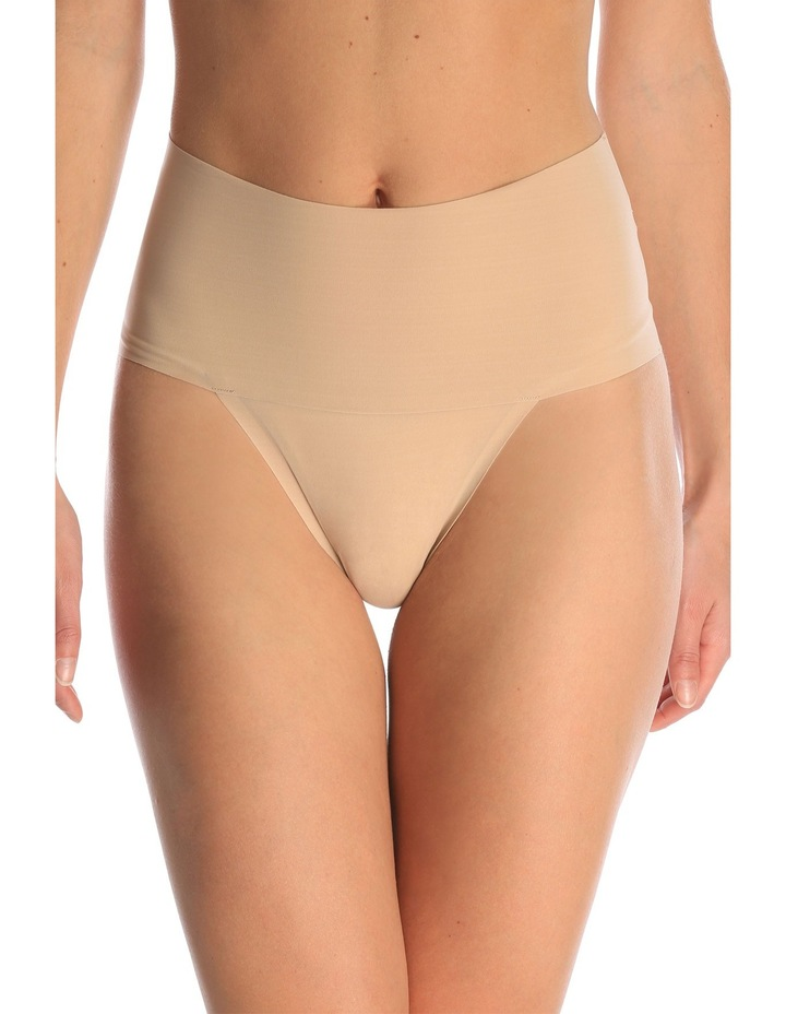 'undie Tectable' Thong Sp0115 by Spanx