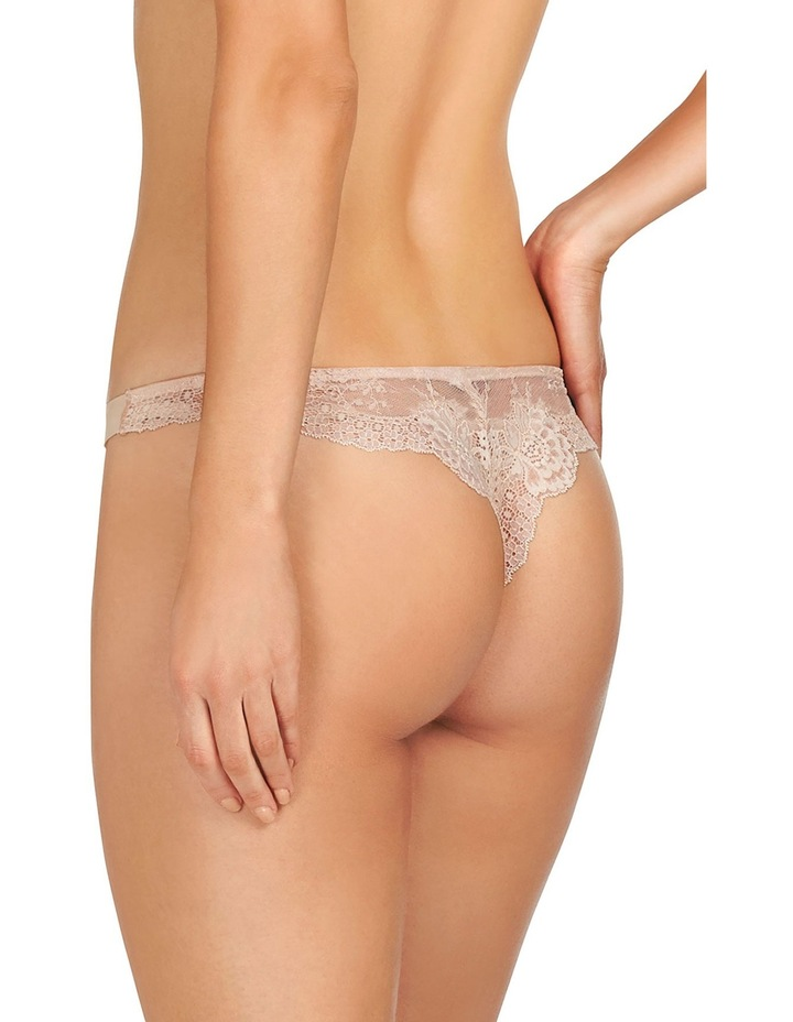 'Stella Smooth & Lace' Thong S37-250 image 2