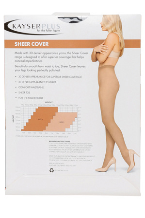 Kayser - H10621 30D SHEER COVER PLUS