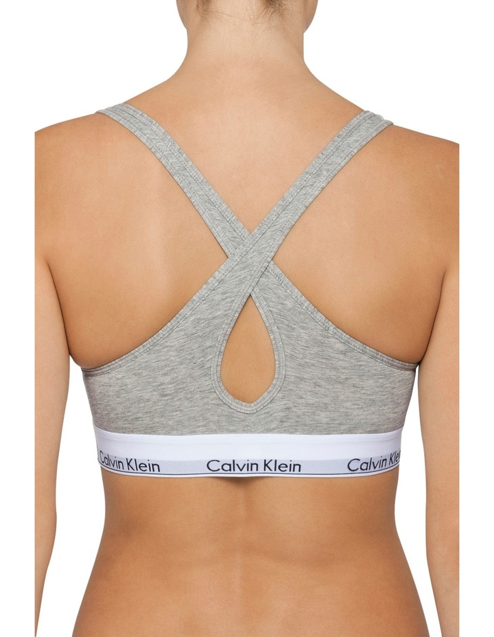Modern Cotton Padded Bralette QF1654 image 2