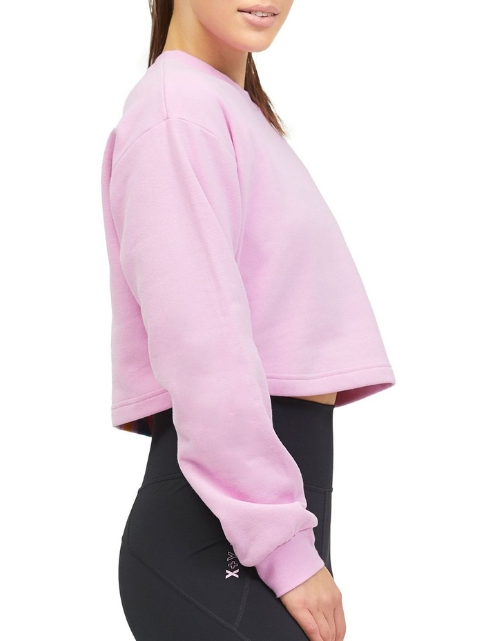 Cropped Sweater Lilac image 3