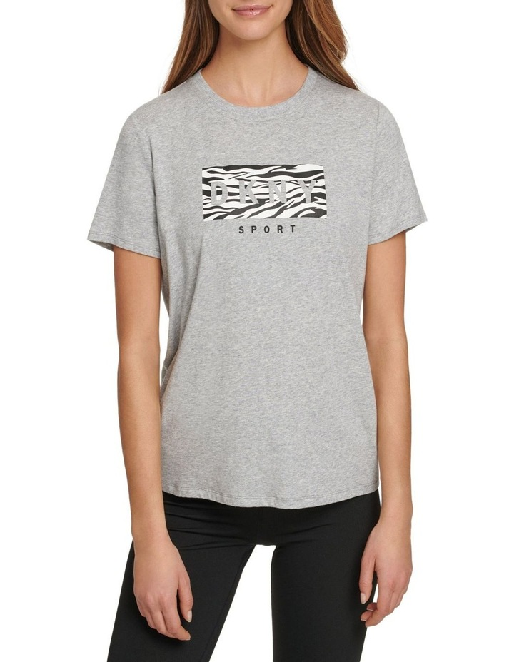 ZEBRA DROP OUT LOGO CLASSIC FIT TEE image 1