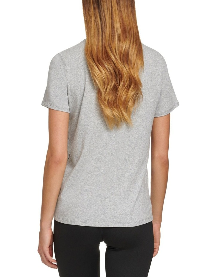 ZEBRA DROP OUT LOGO CLASSIC FIT TEE image 2