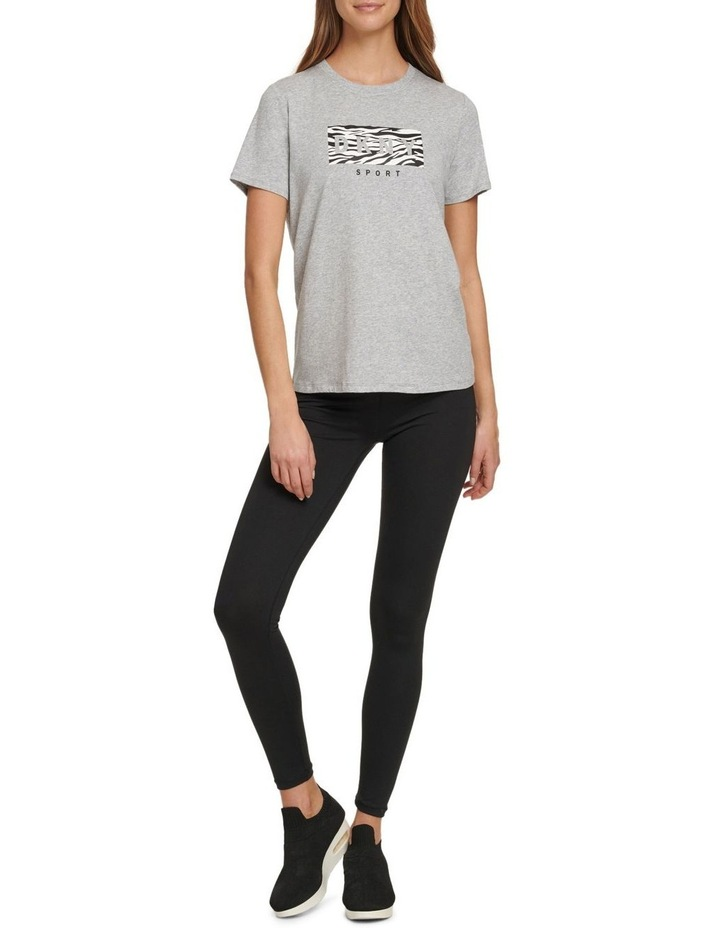 ZEBRA DROP OUT LOGO CLASSIC FIT TEE image 3