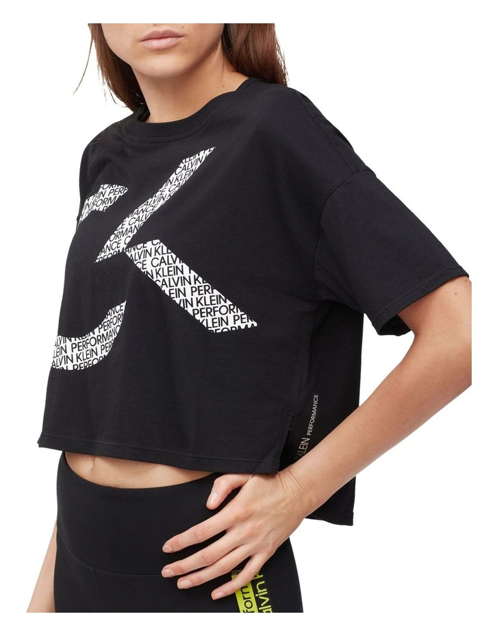 CK Performance Oversized Logo Crop Tee PF0T3745 image 2