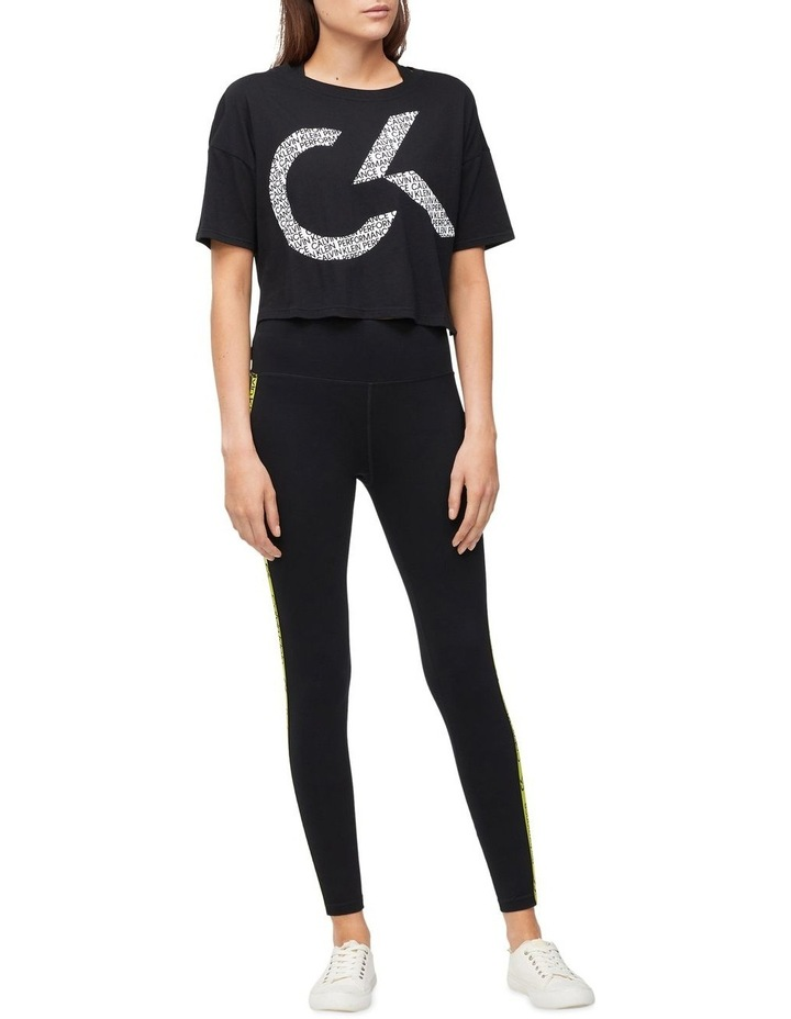 CK Performance Oversized Logo Crop Tee PF0T3745 image 3