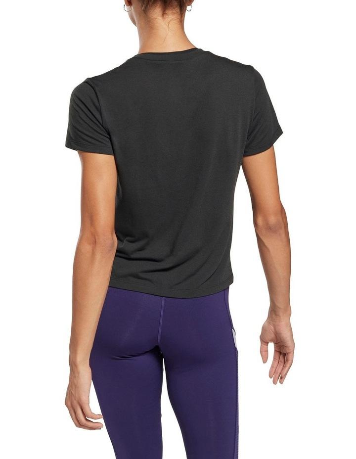 Reebok Workout Ready Supremium Slim Fit Big Logo Tee GI6851 image 2