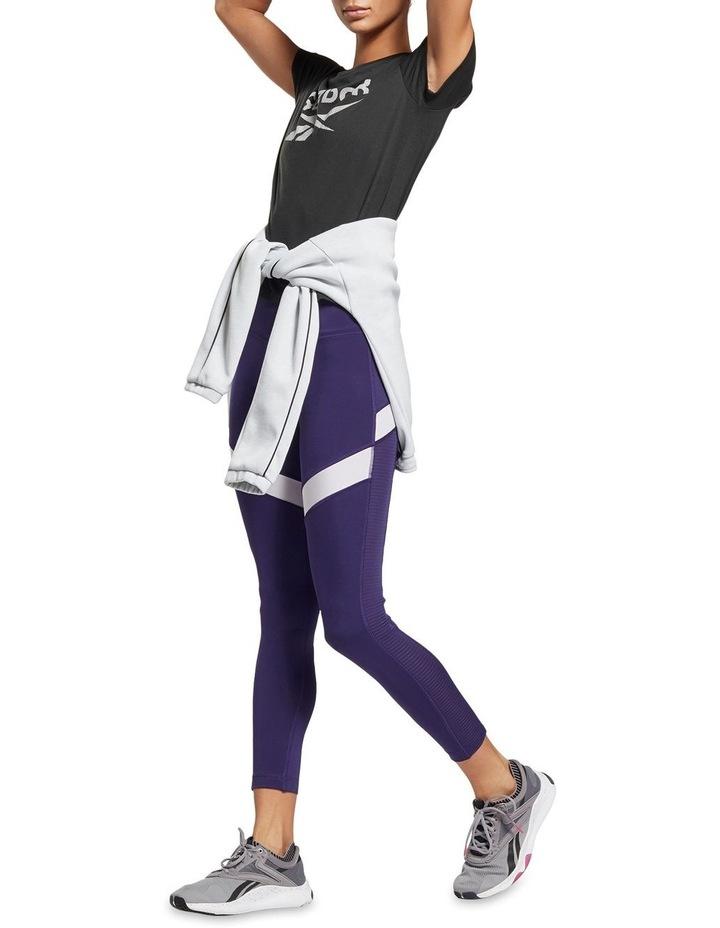 Reebok Workout Ready Supremium Slim Fit Big Logo Tee GI6851 image 3