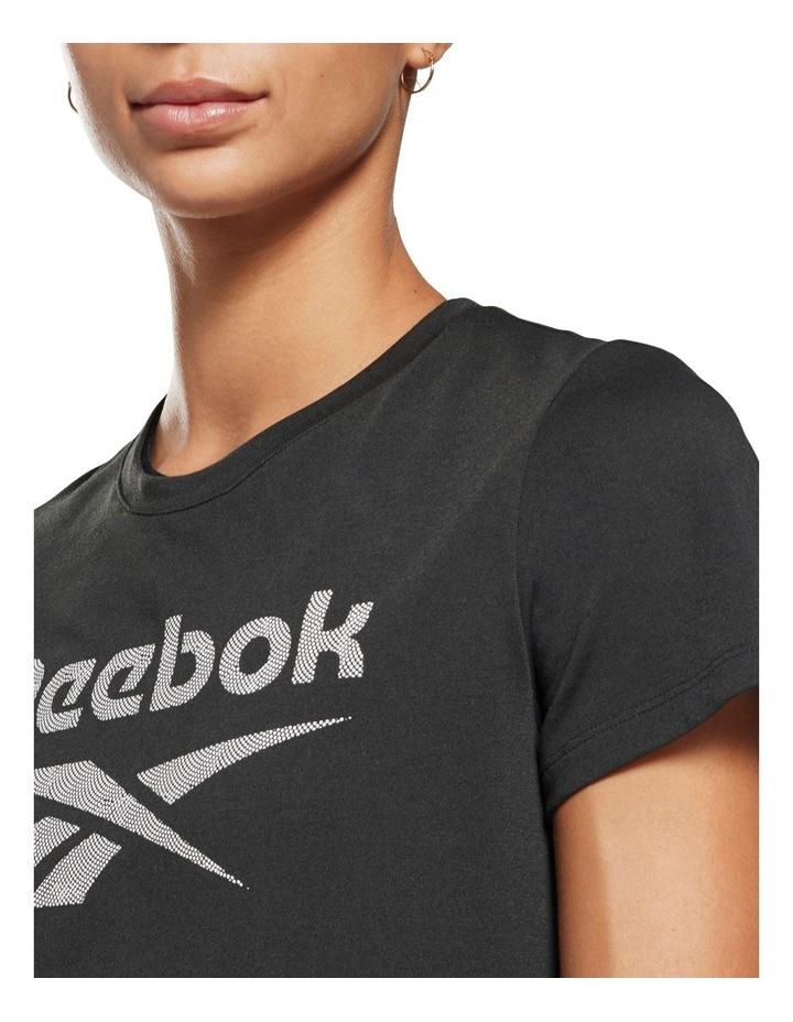 Reebok Workout Ready Supremium Slim Fit Big Logo Tee GI6851 image 4