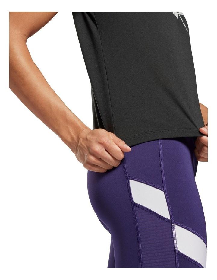 Reebok Workout Ready Supremium Slim Fit Big Logo Tee GI6851 image 5