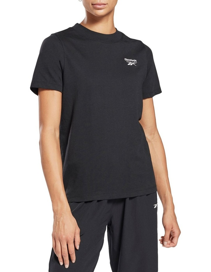 Identity Relaxed Fit Tee Black image 1