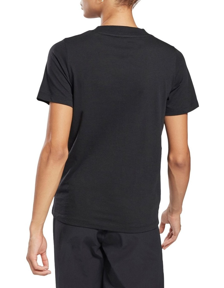 Identity Relaxed Fit Tee Black image 2