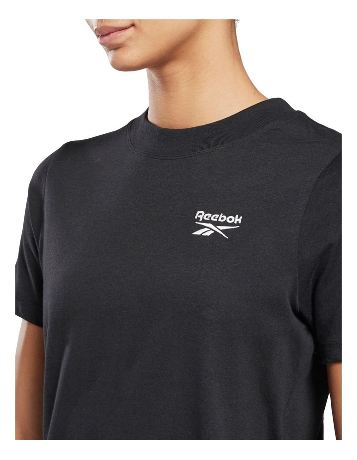 Identity Relaxed Fit Tee Black image 4