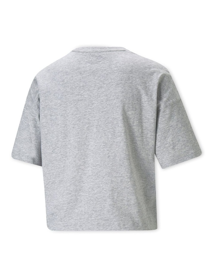 Essential Cropped Logo Tee image 4