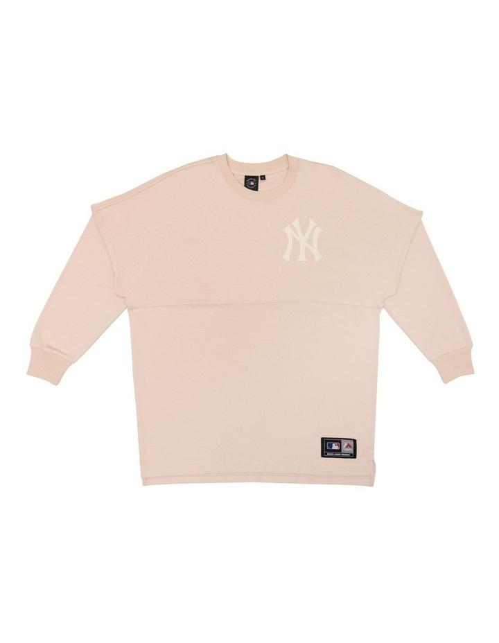 Majestic Sr Hiri Long Sleeve Tee Yankees Tee image 1