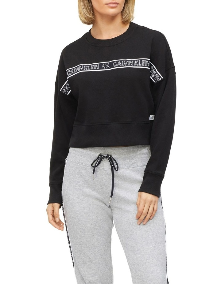 CK Performance Crew Neck Crop Pullover PF0T3734 image 1
