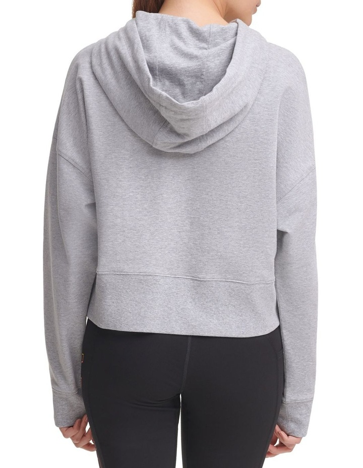 Ombre Logo Cropped Hoodie DP1T8023 image 2