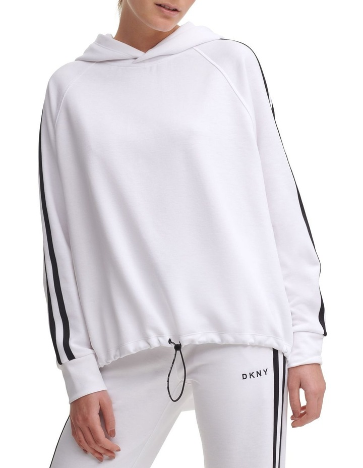 Bungee Front Cropped Hoodie image 2