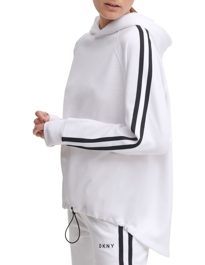 Bungee Front Cropped Hoodie image 3