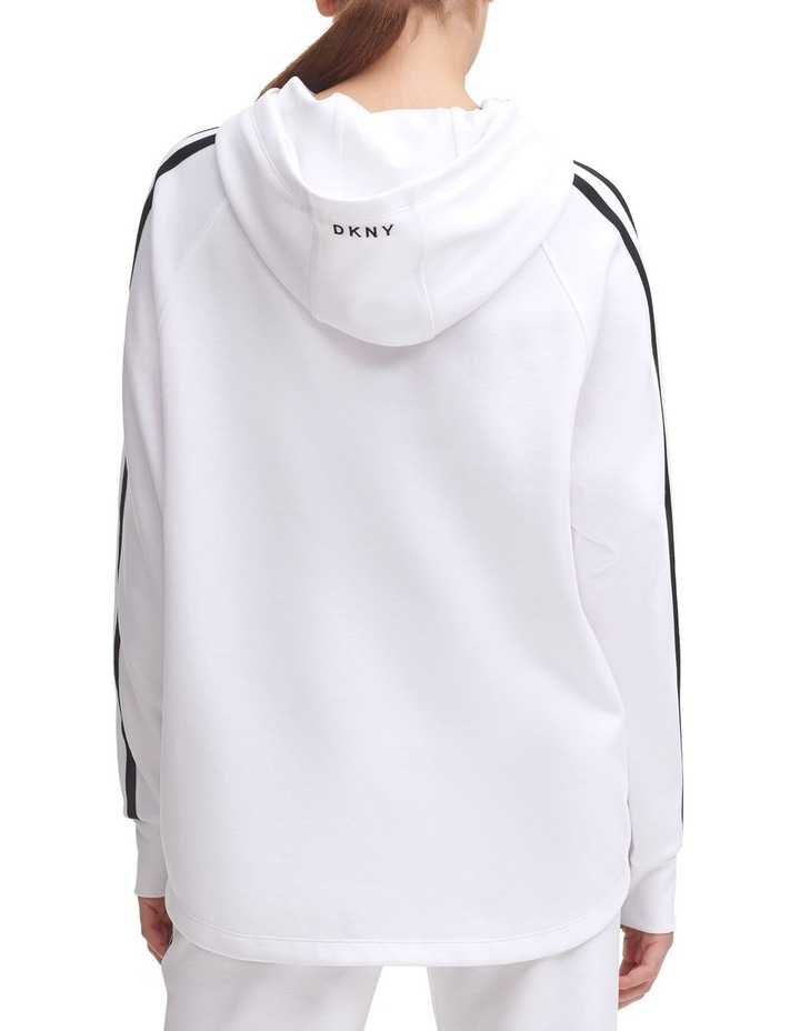Bungee Front Cropped Hoodie image 4