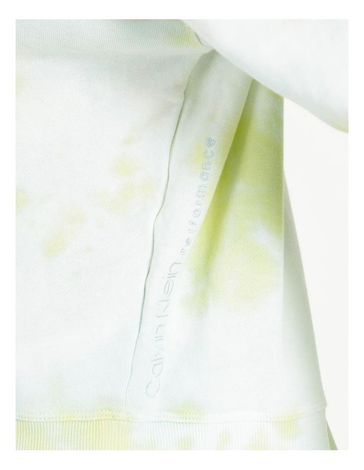 Performance Tie Dye Logo Crop Hoodie image 6