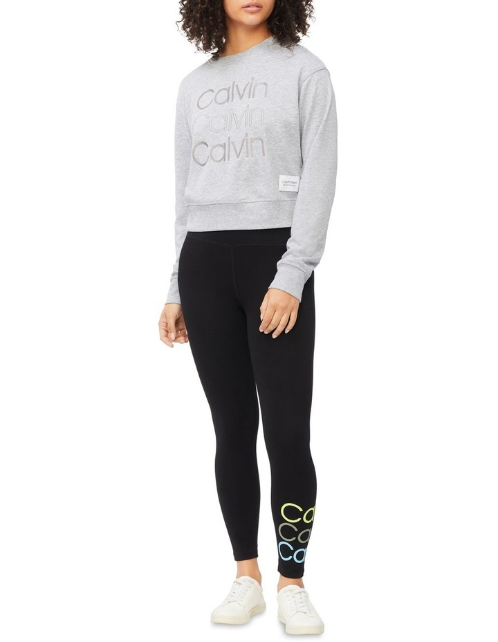 Performance Embroidered Logo Crew Neck Pullover image 2