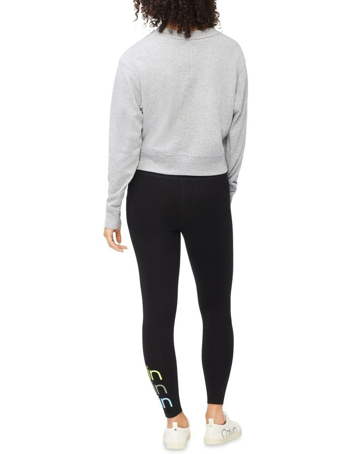 Performance Embroidered Logo Crew Neck Pullover image 3