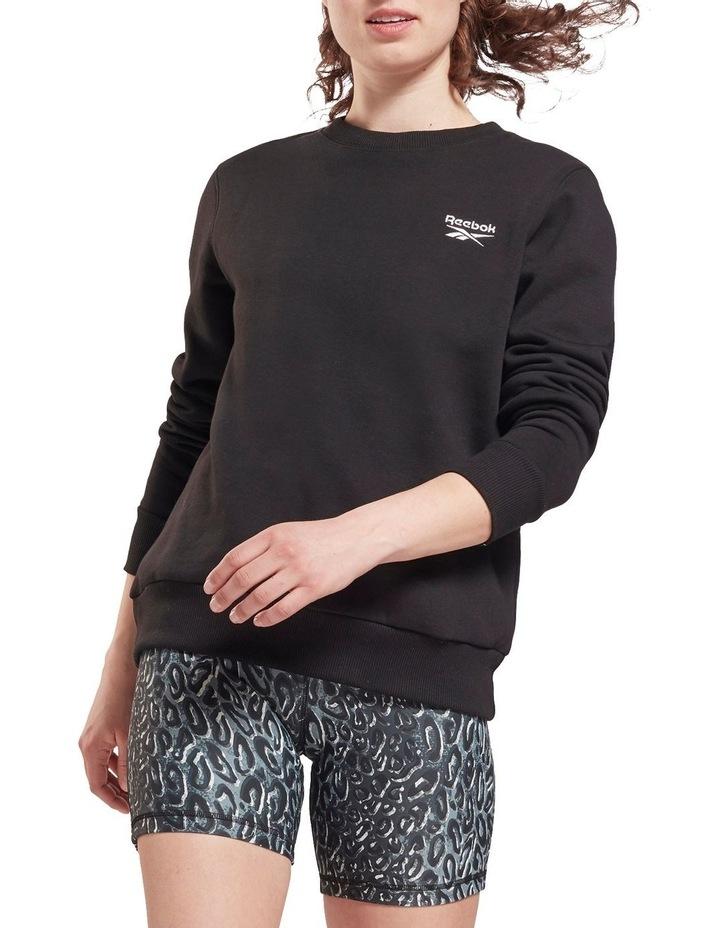 Identity Black Fleece Crew Sweater image 1