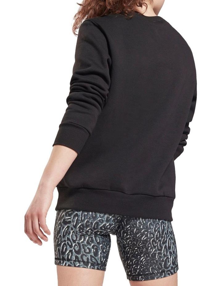 Identity Black Fleece Crew Sweater image 2