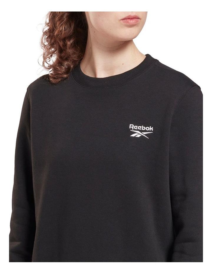 Identity Black Fleece Crew Sweater image 5