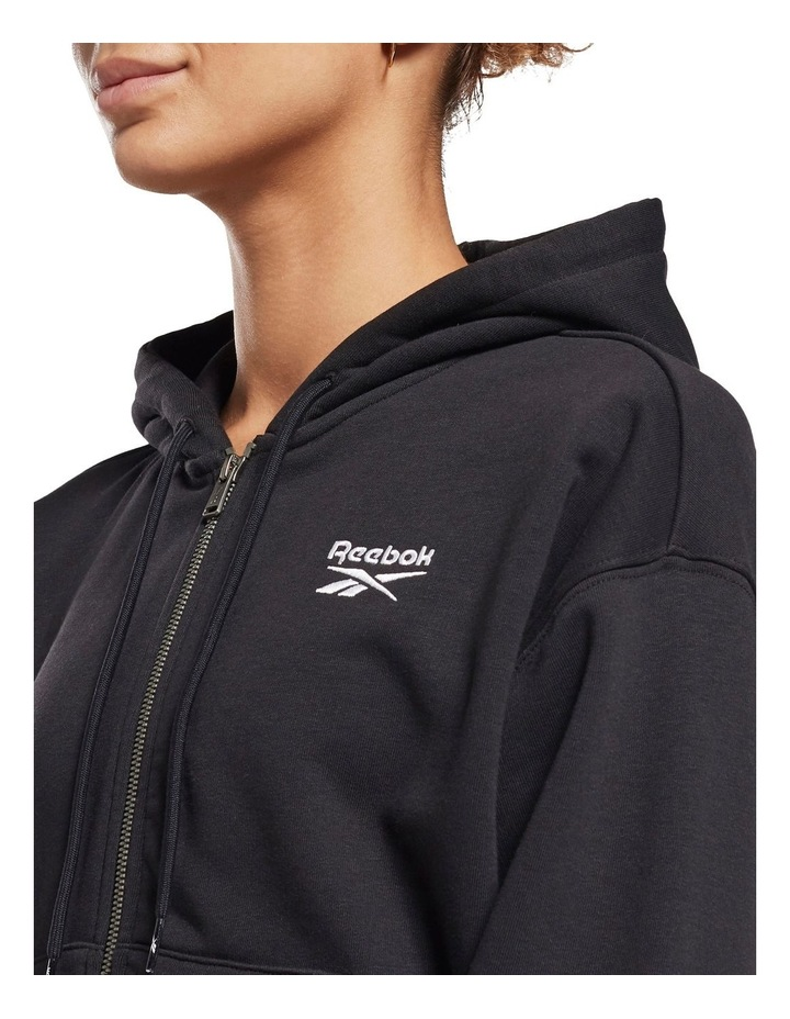 Identity French Terry Full Zip Sweater Black image 3