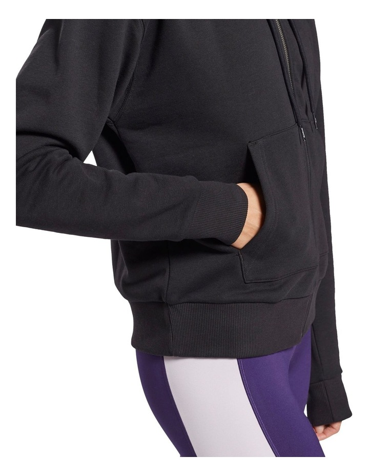 Identity French Terry Full Zip Sweater Black image 4