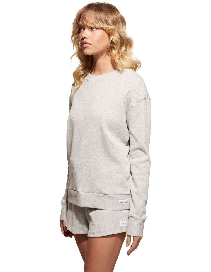 Foresee Pullover Sweat Top Grey image 3