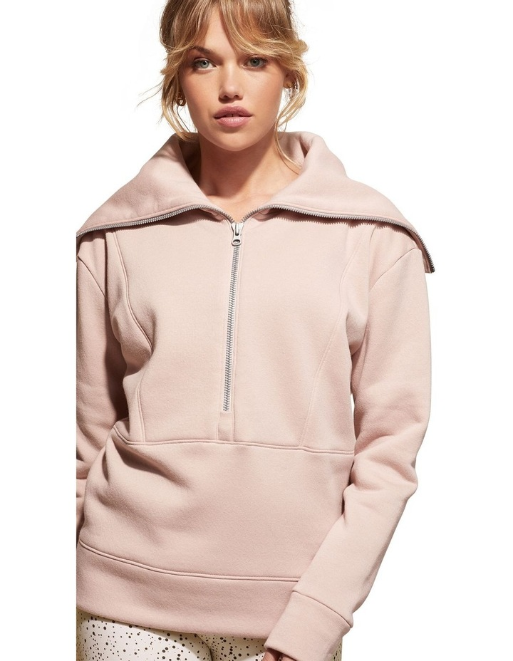 Magnolia Dusty Pink Sweat Top Pullover image 1