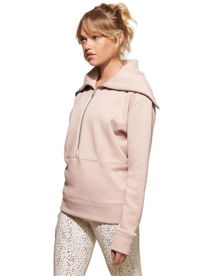 Magnolia Dusty Pink Sweat Top Pullover image 3
