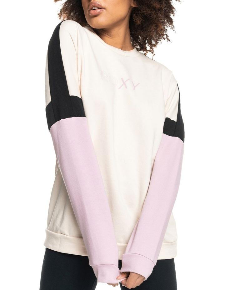 Blinding Lights Tapioca Fleece Sweatshirt image 1