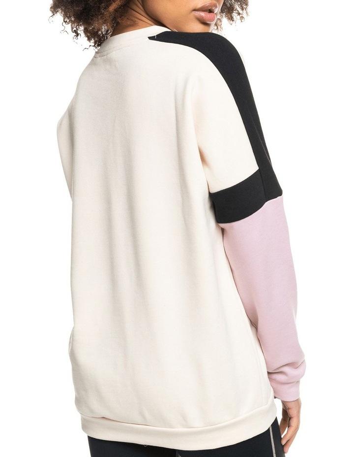 Blinding Lights Tapioca Fleece Sweatshirt image 3