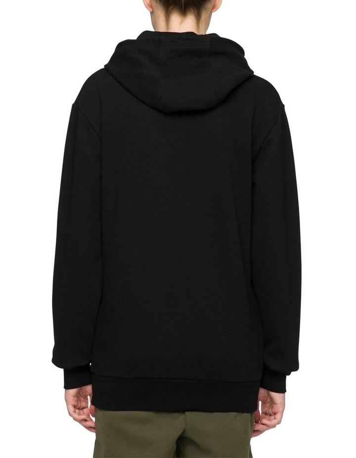 Noreo Hooded Sweat Top Black image 2