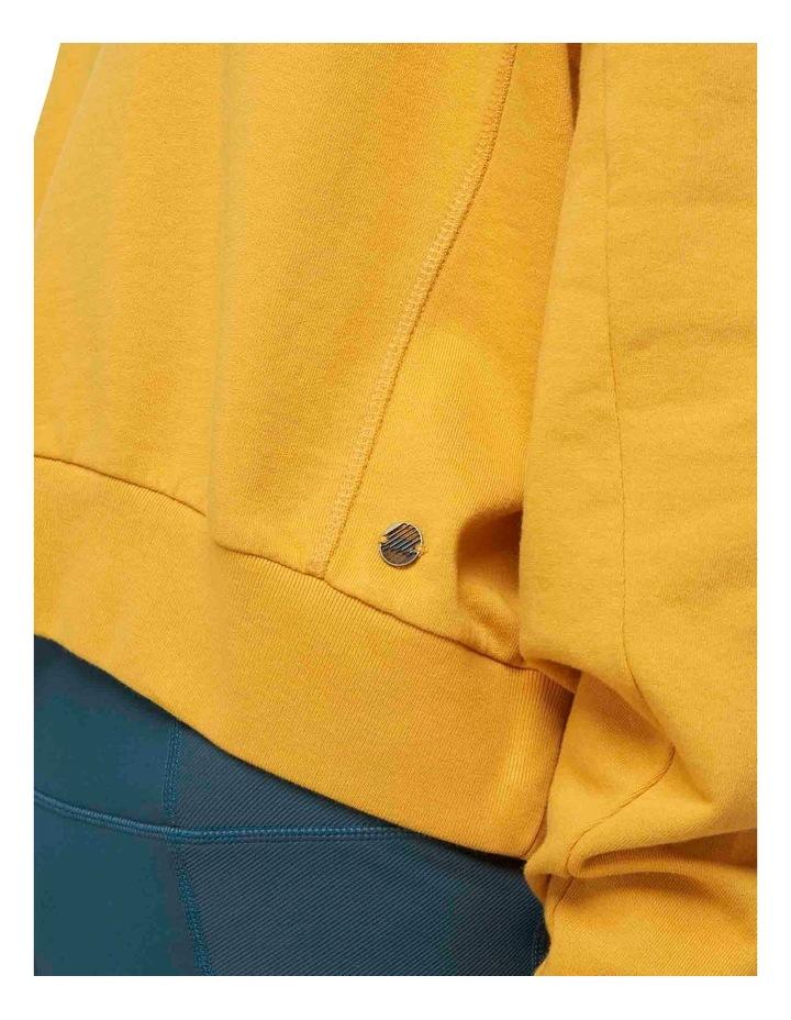 Flex Batwing Crew Sweater Sunflower image 6