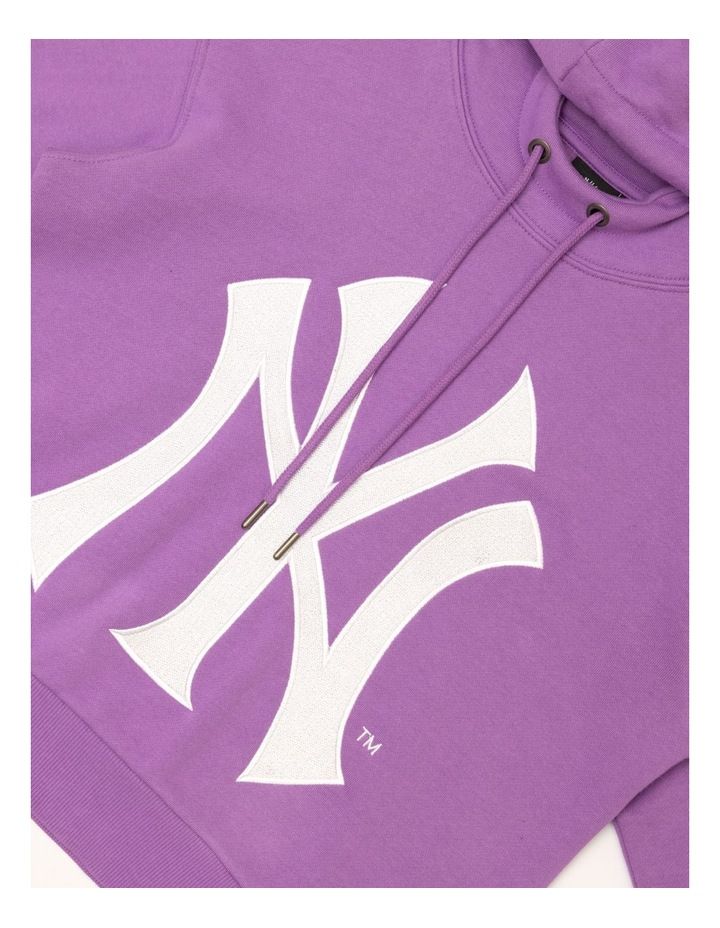 Majestic Barnes Yankees Cropped Hood Magic Mauve image 3