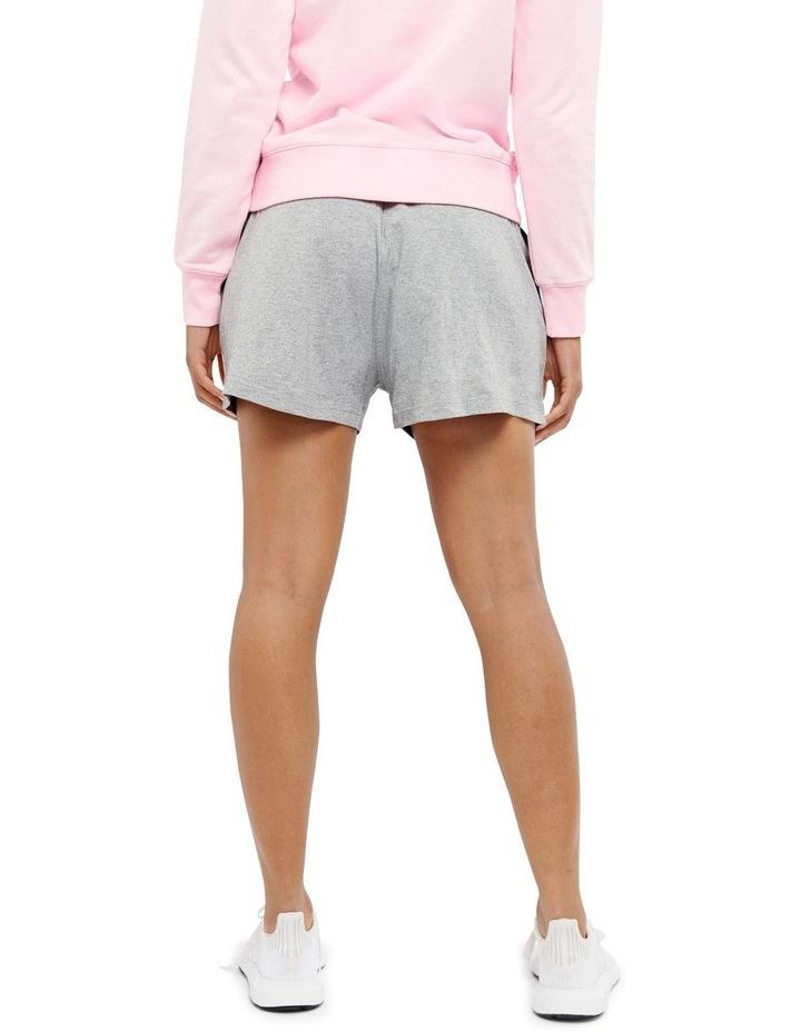 C Logo Oxford Heather Jersey Shorts Grey image 3