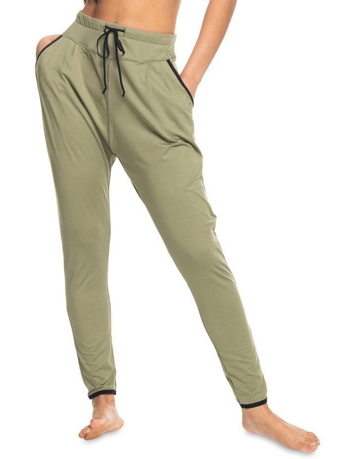 Love Ain'T Enough Soft Pants Green image 1