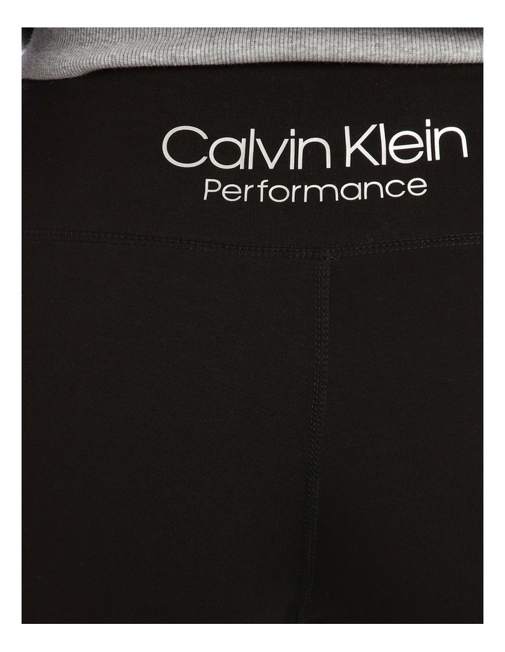 CK Performance Outline Overlap Logo High Waist 7/8 Tight PF0P6141 image 4