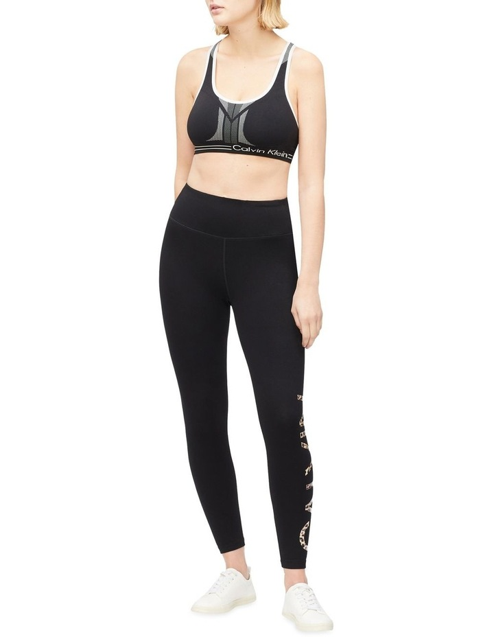 CK Performance Feline Logo High Waist 7/8 Length Tight PF0P6335 image 3