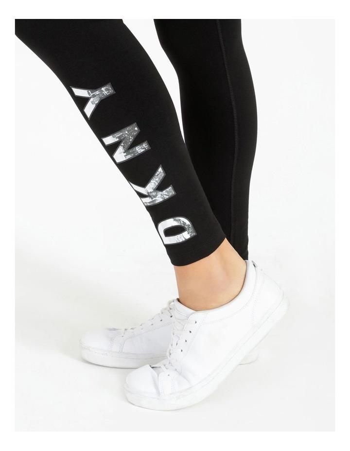 DKNY Active High Waist Full Length Logo Legging DP7P1223 image 6