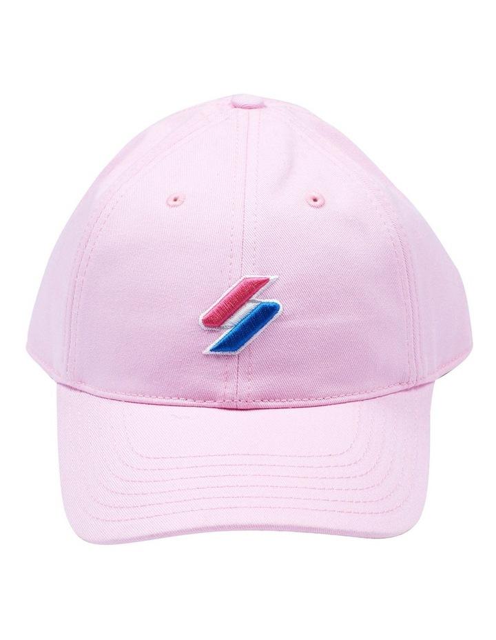 Code Roseate Pink Baseball Cap image 1