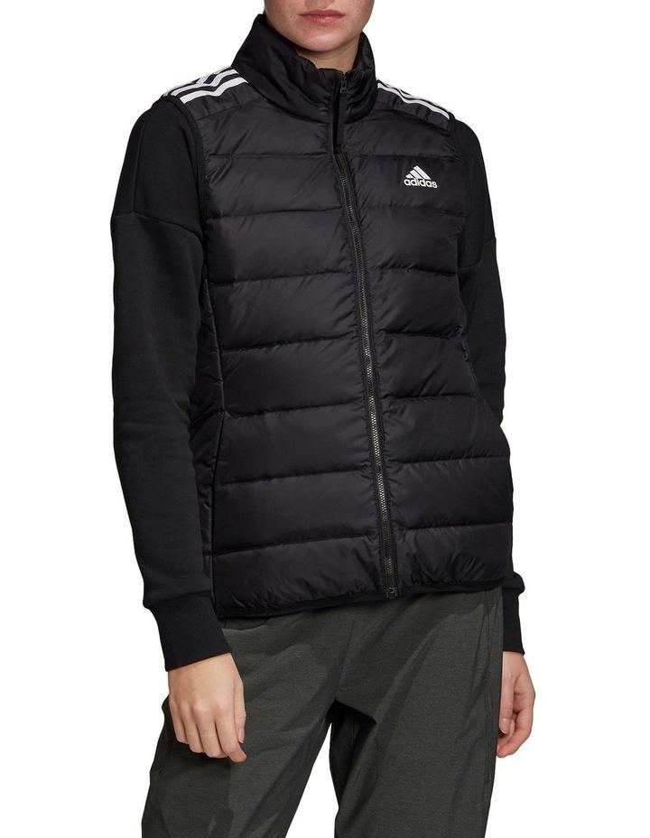 Essentials Down Black Puffer Vest image 1